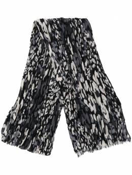 Saint Laurent abstract print scarf 6050834YD93