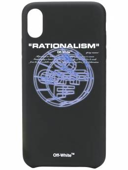 Off-White Rationalism iPhone XS case OMPA011R202940031088