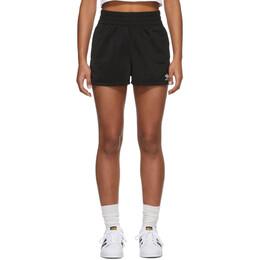 Adidas Originals Black 3 Stripes Shorts FM2610