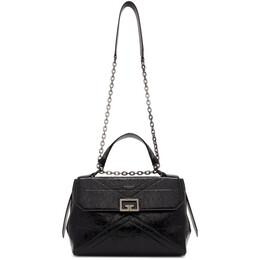 Givenchy Black Medium Crinkled ID Bag BB50C4B0TT