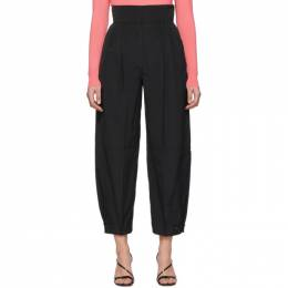 Givenchy Black High-Waisted Trousers BW50CN12PY