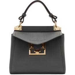 Givenchy Grey Mini Mystic Top Handle Bag BB50C3B0LG