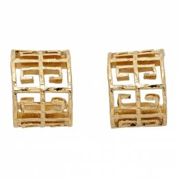 Givenchy Gold 4G Earrings BF103PF00R