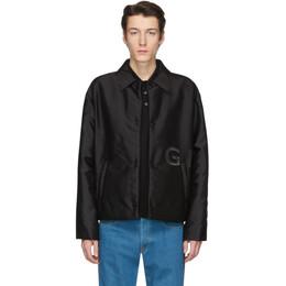 Givenchy Black Short Padded Coach Jacket BM00EX12KR