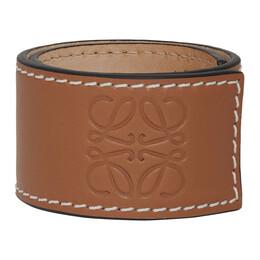 Loewe Tan Slap Bracelet 119.19.336