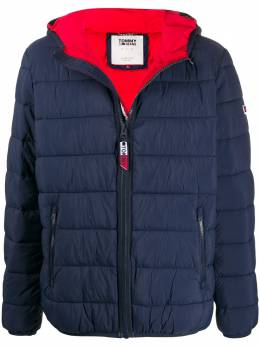 Tommy Jeans Essential hooded padded jacket DM0DM07365