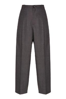 Широкие шерстяные брюки в клетку Balenciaga 397174019