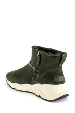 Зеленые ботинки из замши Ash 6171176