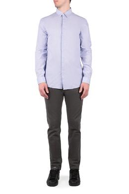Голубая рубашка с длинными рукавами Trussardi Jeans 3074174779