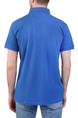 Ярко-синяя рубашка-поло Trussardi Jeans 3074174790