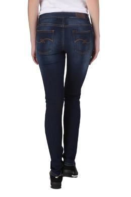 Синие джинсы с декором Trussardi Jeans 3074174314