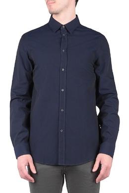 Темно-синяя рубашка с длинными рукавами Trussardi Jeans 3074174784