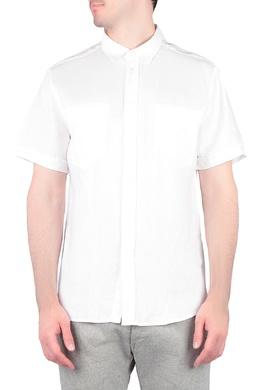 Белая рубашка с короткими рукавами Trussardi Jeans 3074174782