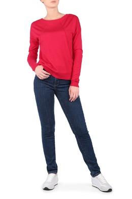 Синие джинсы с декором на задних карманах Trussardi Jeans 3074174414