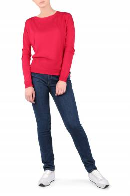 Синие джинсы с золотистым декором на задних карманах Trussardi Jeans 3074174531