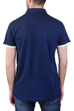 Синяя рубашка-поло Trussardi Jeans 3074174789