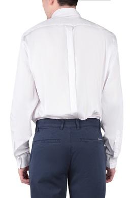 Белая рубашка с длинными рукавами Trussardi Jeans 3074174778