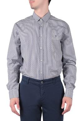 Полосатая рубашка с узором Trussardi Jeans 3074174780