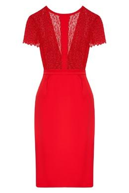 Красное шелковое платье La Perla 2363174396