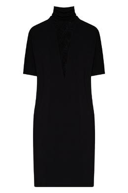 Черная ночная сорочка La Perla 2363174393