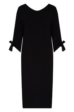 Черная ночная сорочка с кружевной отделкой La Perla 2363174410