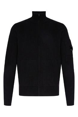 Черный свитер с высоким воротником C.P. Company 1929174998