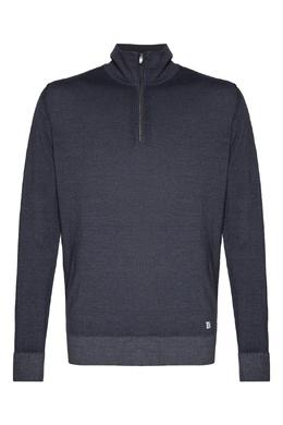 Серый свитер с застежкой-молнией C.P. Company 1929174991