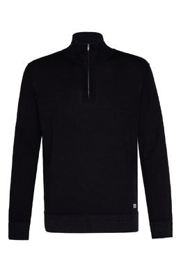 Шерстяной свитер темно-синего цвета C.P. Company 1929174989