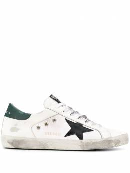 Golden Goose distressed low top sneakers G36MS590T87