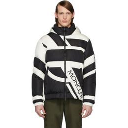 Moncler Genius 5 Moncler Craig Green Black and White Down Plungery Jacket 41399 - 00 - C0346