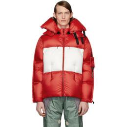 Moncler Genius 5 Moncler Craig Green Red Down Coolidge Jacket 41395 - 00 - C0343