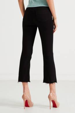 Черные джинсы с золотым декором Elisabetta Franchi 1732174891