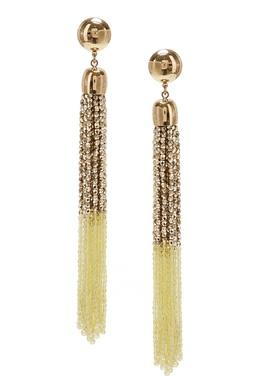 Золотые серьги с бисером Elisabetta Franchi 1732174885