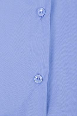 Васильковая рубашка с рукавами 3/4 Marina Rinaldi 1511173318
