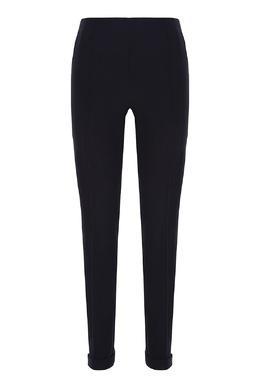 Черные зауженные брюки Salvatore Ferragamo 510174720