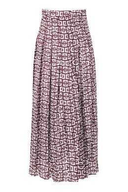 Коричневая юбка макси Marni 294174696