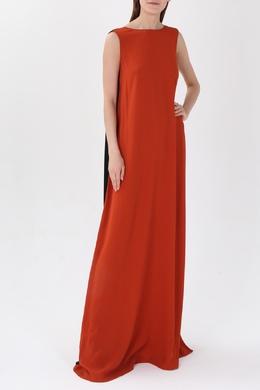 Красное платье с контрастной спиной Marni 294174698