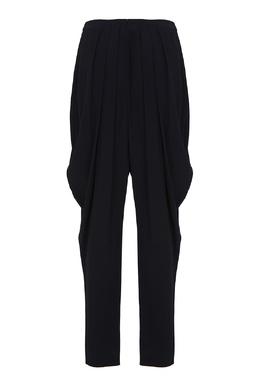 Черные брюки со складками Alexander McQueen 384174709