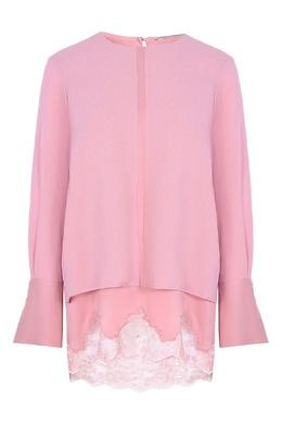 Розовое платье с кружевом Ermanno Scervino 1328175132