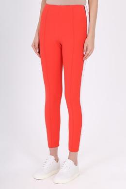 Красные брюки с лампасами MSGM 296175130