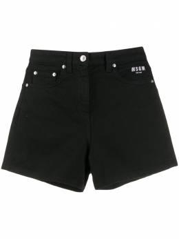 MSGM джинсовые шорты 2841MDB48T207276