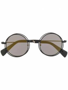 Yohji Yamamoto солнцезащитные очки в круглой оправе YY7034