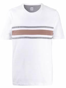 Eleventy полосатая футболка с круглым вырезом A75TSHA08JER0A007