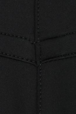 Черные леггинсы с вязаными лампасами Ermanno Scervino 1328171979