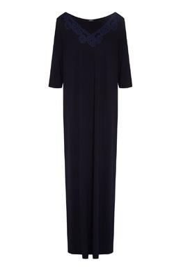 Темно-синяя ночная сорочка La Perla 2363174353