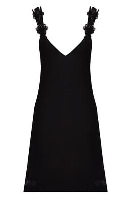Черная ночная сорочка La Perla 2363174379