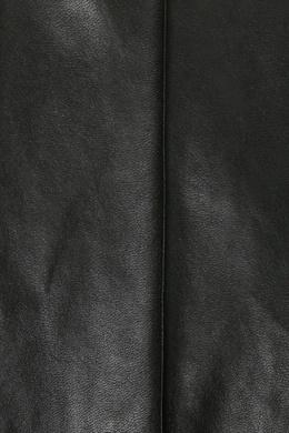 Черные леггинсы из материала под кожу Ermanno Scervino 1328171939