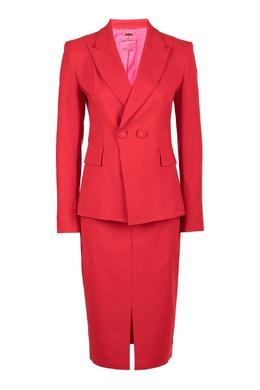 Красный костюм с юбкой Blumarine 533174297