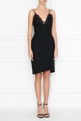 Черное платье на бретелях Ermanno Scervino 1328171795