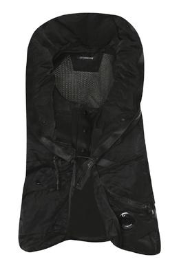 Черный жилет с карманами C.P. Company 1929175037